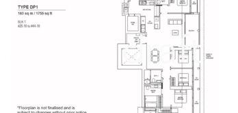 Canninghill-piers-floor-plan-4-bedroom-premium-type-DP1-singapore